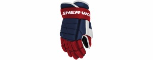 BPM090 Glove SR Navy/Red/White