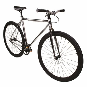 Fixie Chrome/Black 52cm