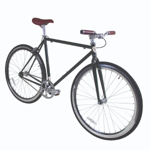 Fixie Green/Silver 55cm