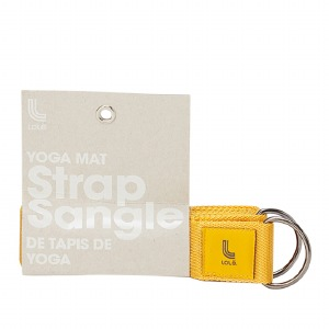 Yoga Strap Yellow