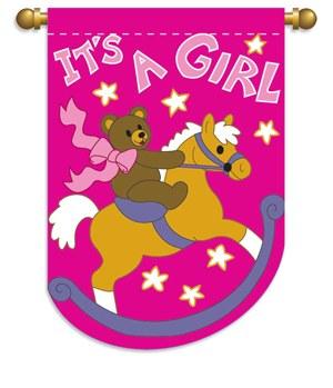 FLAG LG IT'S A GIRL