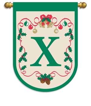 CMAS GARDEN FLAG X-MAS X