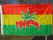 FLAG 3 X 5 MARIJUANA FLAG #69