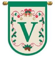 CMAS GARDEN FLAG X-MAS V