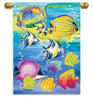HOUSE FLAG TROPICAL FISH