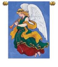 GARDEN FLAG ANGEL