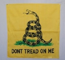 DONT TREAD ON ME BANDANA 22X22