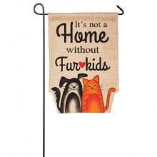 GARDEN FLAG FUR KIDS