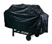 GRILL COVER 53X18X34 BLACK