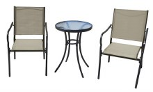 102     PATIO BISTRO SET 3PC POPLAR