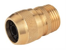 HOSE COUPLING BRASS 5/8IN