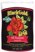 BG   BLACK GOLD ALL PURPOSE POT SOIL 2CF