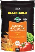 BG 1CF BLACK GOLD NAT & ORG POT SOIL