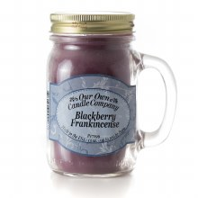 BLACK FRANKENCENSE MASON JAR