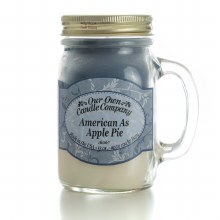 CANDLE AMERICAN AS APPLE PIE