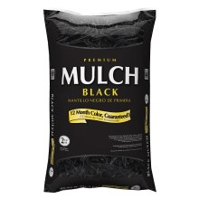 Dyed Black Mulch 4 Bags for $10.00