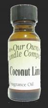 COCONUT LIME FRANGRANCE OIL 2OZ