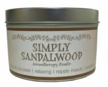 SANDLEWOOD AROMATHERAPY CANDLE