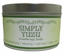 YUZU AROMATHERAPY CANDLE