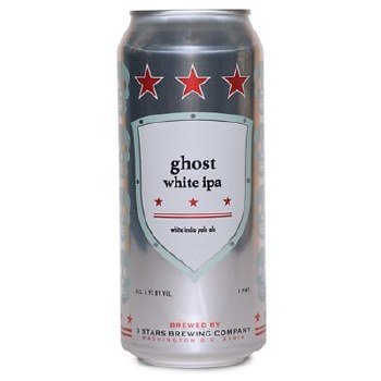 3 Stars Ghost White IPA 12oz 6pk Cans