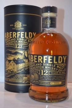 Aberfeldy 12 Year Single Malt Whiskey 750ml