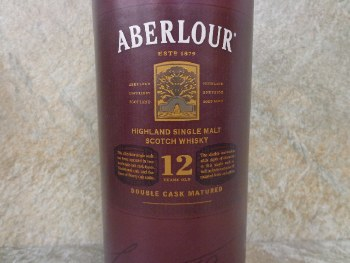 Aberlour 12 Year Single Malt Whiskey 750ml