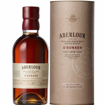 Aberlour ABunadh Single Malt Whiskey 750ml
