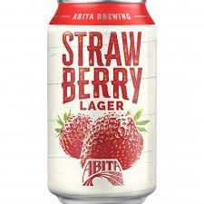 Abita Strawberry Lager 12oz 6pk Can