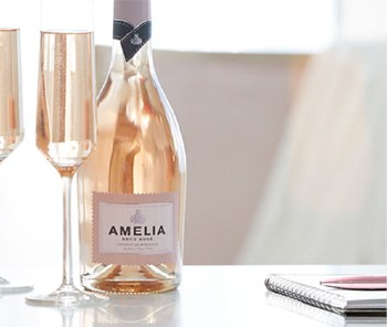 Amelia Cremant de Bordeaux Rose 750ml