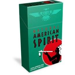 American Spirit Dark Green Box