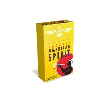 American Spirit Yellow Box