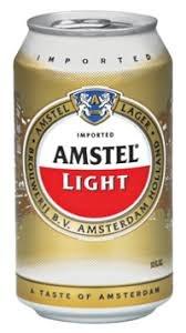 Amstel Light 12oz 6pk,12pk or 24pk Cans