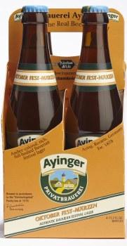Ayinger Oktober Fest 12oz 4pk Bottles