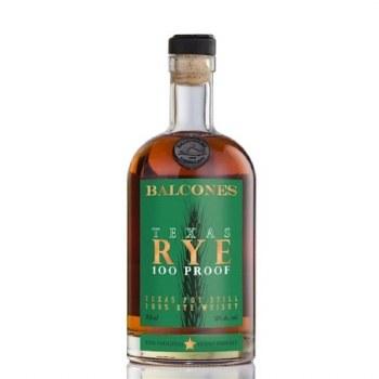 Balcones Texas Rye Whiskey 100P 750ml