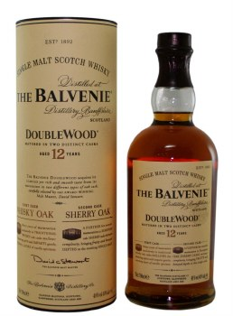 Balvenie Doublewood 12 Year Single Malt Whiskey 750ml