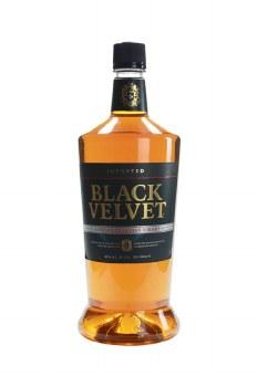 Black Velvet Canadian Blended Scotch Whiskey 1.75 L