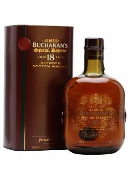 Buchanans 18 Year Blended Scotch Whiskey 750ml