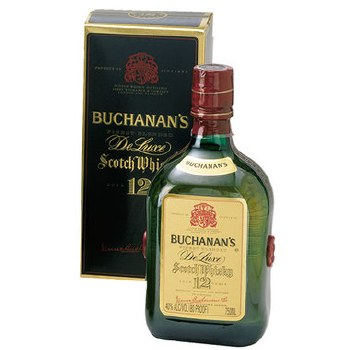 Buchanans Deluxe 12 Year  Blended Scotch Whiskey 750ml