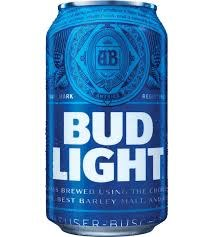 Bud Light 6,12 OR 24pk Cans