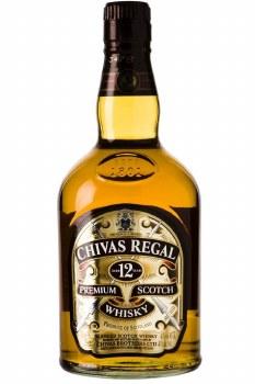 Chivas Regal 12 Year Blended Scotch Whiskey 750ml