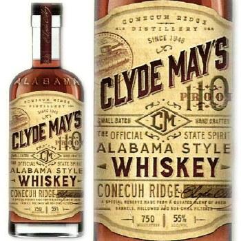 Clyde Mays Alabama Style Whiskey 750ml
