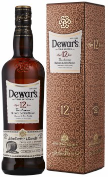 Dewars 12 Year Blended Scotch Whiskey 750ml