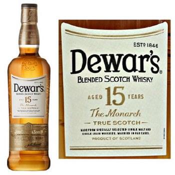 Dewars 15 Year Blended Scotch 750ml