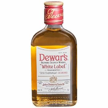 Dewars White Label Blended Scotch Whiskey 200ml