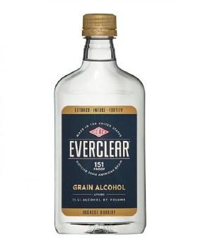 Everclear Grain Alcohol 375ml