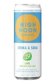 High Noon Lime Seltzer