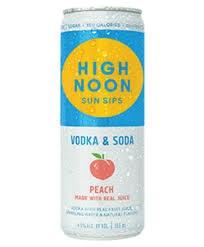 High Noon Peach Seltzer