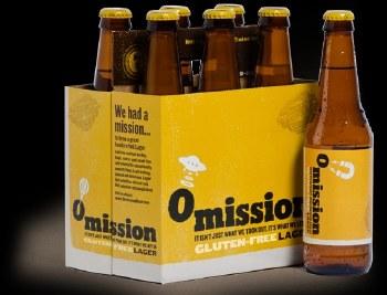 Omission Light Golden Ale Gluten Free 12oz 6pk Cans