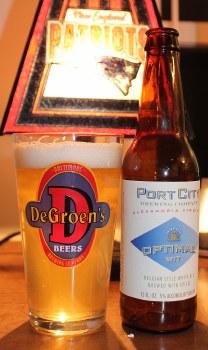 Port City Optimal Wit 12oz 6pk Bottles