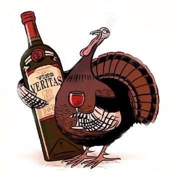 """""""Talkin Turkey """" Six Pack Wine Sampler"""
